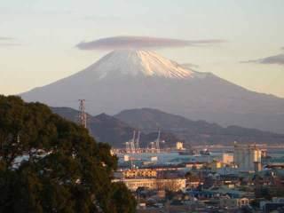 富士山が借景