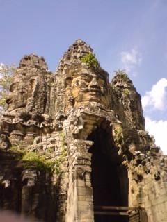 カンボジアから帰国
