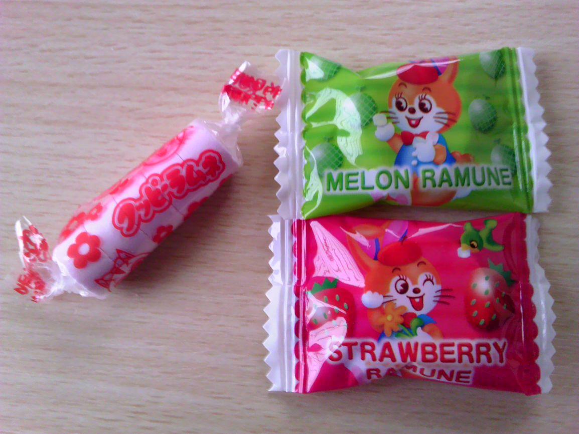 名古屋製ラムネ菓子の比較